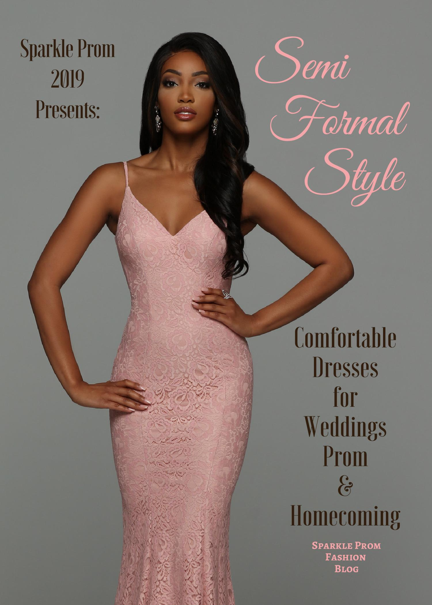 Semi Formal Dresses for Wedding Guests, Prom & Homecoming – Sparkle Prom Fashion Blog