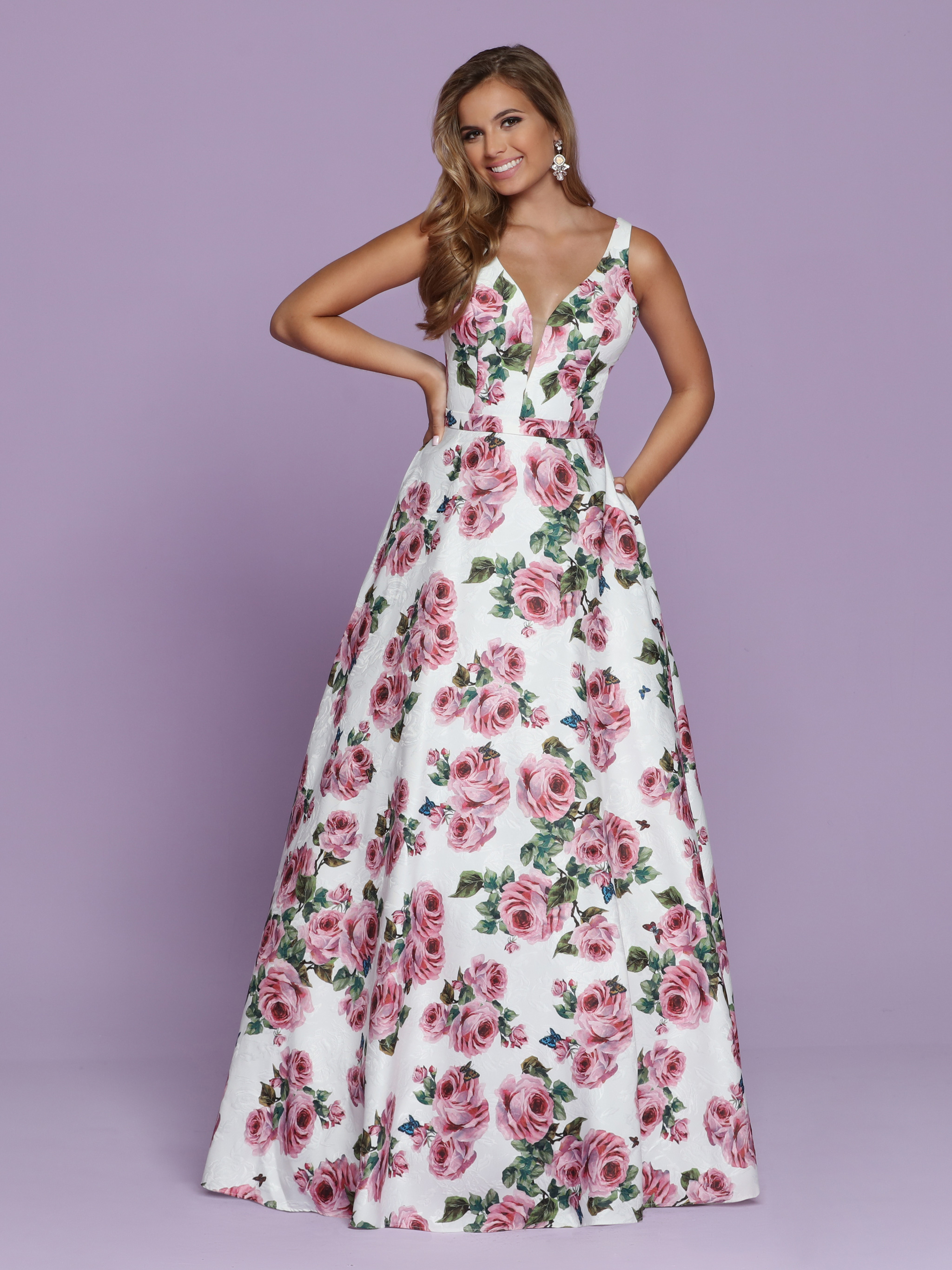 2020 Prom Dress Trends Floral Ball Gowns – Sparkle Prom