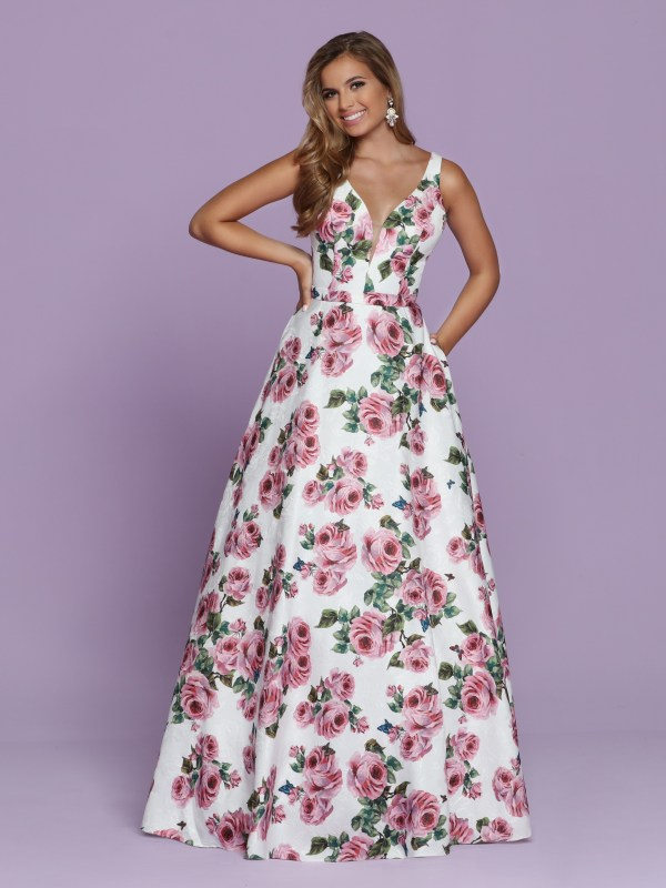 2020 Prom Dress Trends Floral Ball Gowns Sparkle Prom