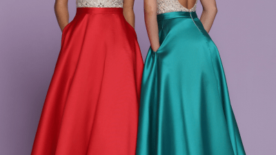 Contrast Bodice Prom Dresses for 2020 – Sparkle Prom