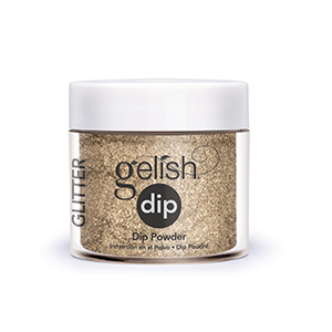 Dip Glitter and Gold 23g – Gelish