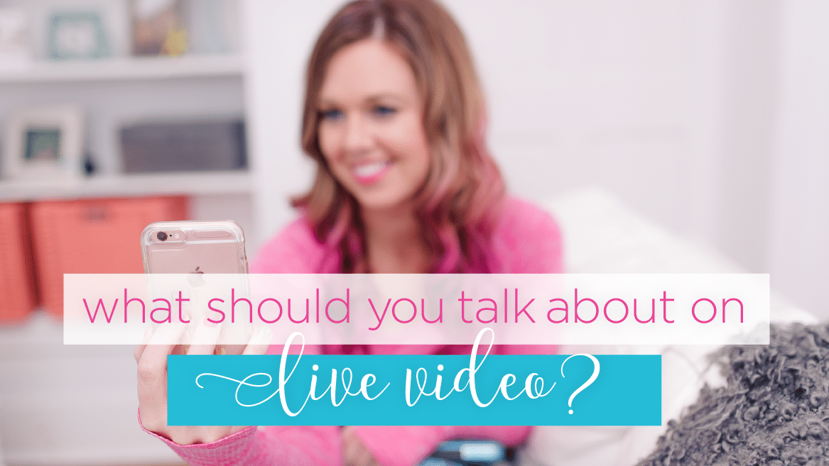 what to talk about on live video