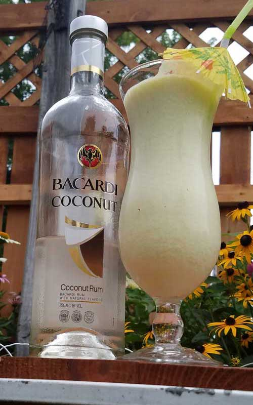 Beat the heat with this Pina Colada Whip. The ultimate frozen tropical cocktail. Coconut, pineapple, and rum create a tasty drink that is great all summer long.