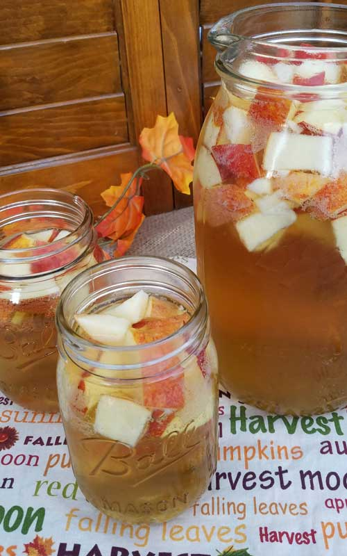 Autumn Hard Apple Cider Sangria