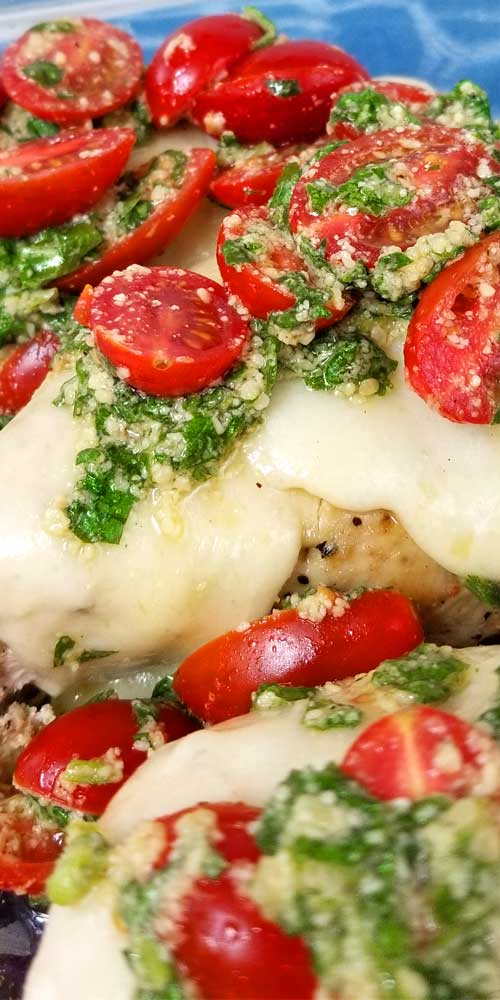 Chicken Margherita Recipe Sparkles Of Yum