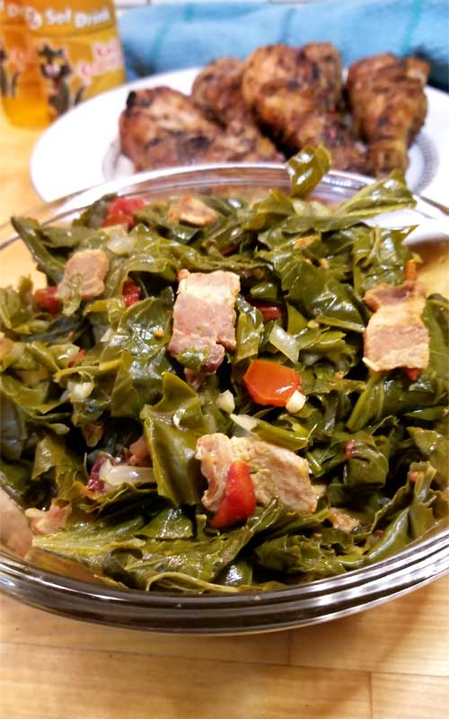 Jamaican Style Greens