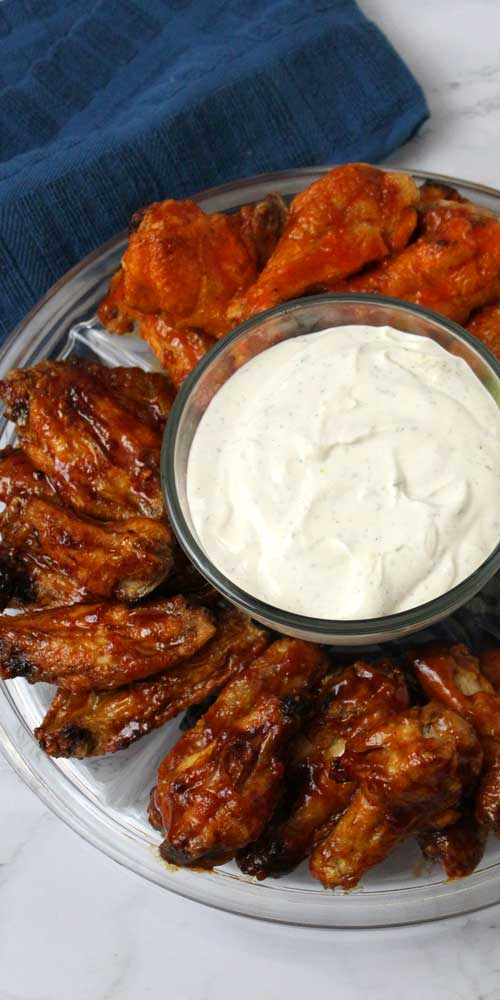 Crispy Baked Wings 3 Ways