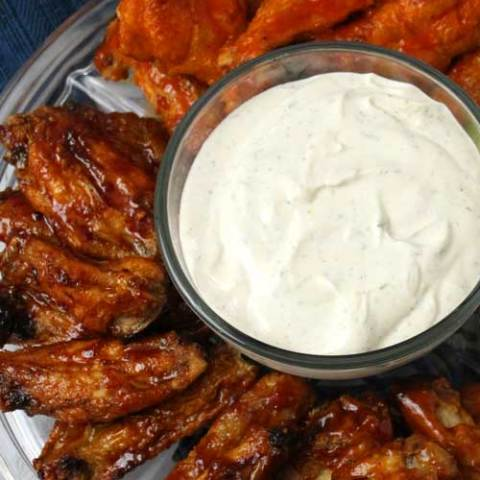 Crispy Baked Wings 3 Ways