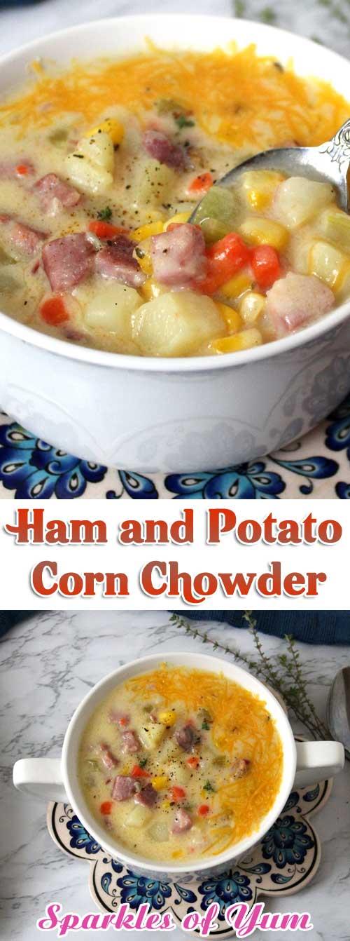 Ham and Potato Corn Chowder