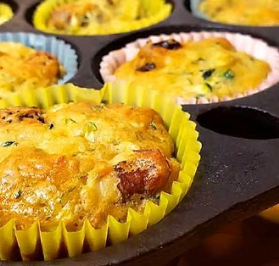 Zucchini Hummingbird Muffins