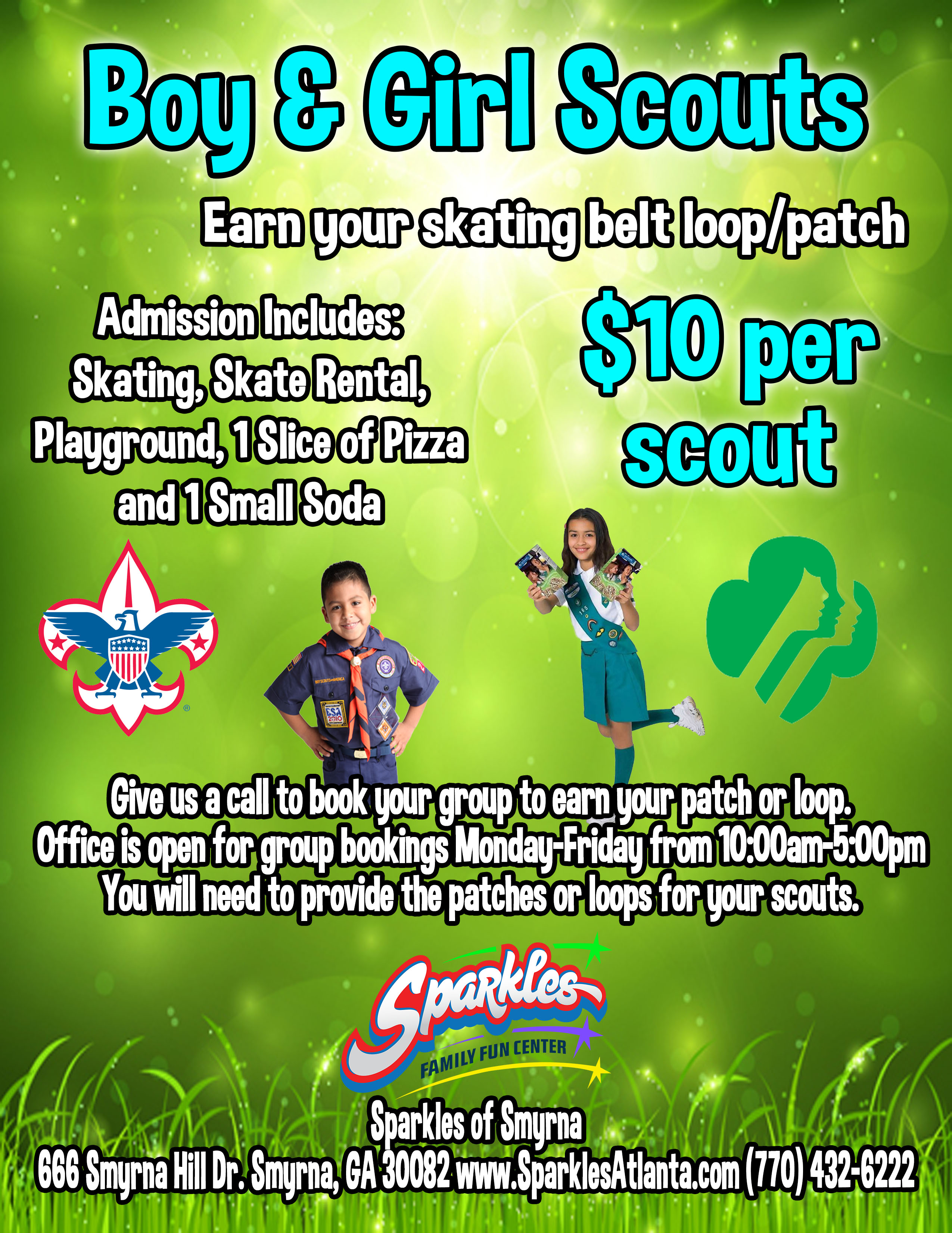 Scout Loop Flyer