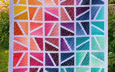 Color Jolt QAL Week 1: Picking Your Fabric And Planning Your Layout