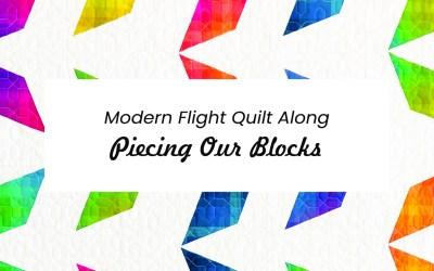 Modern Flight QAL Week 3: Making Half Our Blocks
