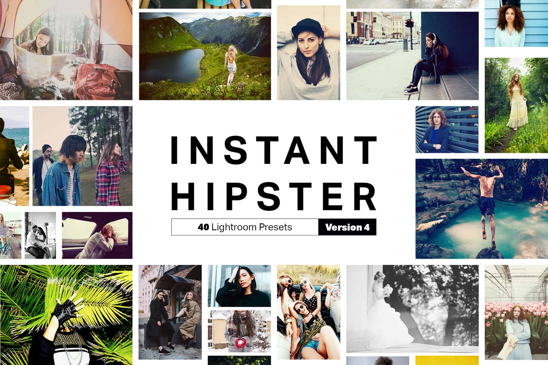 Instant Hipster – 40 Instagram Lightroom Presets