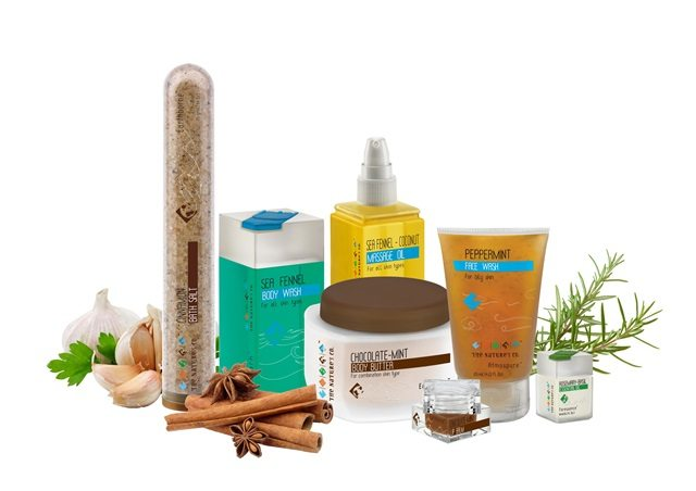 Spice product group shot