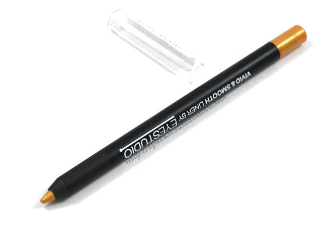 Maybelline Vivid & Smooth Colour Eye Pencil GOLD,Maybelline Vivid & Smooth Colour Eye Pencil GOLD Review,Maybelline Vivid & Smooth Colour Eye Pencil GOLD Swatches,Maybelline Vivid & Smooth Colour Eye Pencil,Maybelline Vivid & Smooth Colour Eye Pencil Review,Maybelline Vivid & Smooth Colour Eye Pencil Swatches, Maybelline New York, Maybelline India, Maybelline
