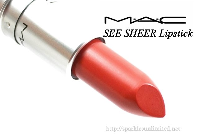 MAC SEE SHEER Lustre Lipstick,MAC SEE SHEER Lustre Lipstick Review,MAC SEE SHEER Lustre Lipstick Swatches, MAC Lustre Lipstick, MAC See Sheer Lipstcik, MAC See Sheer Lipstick review, MAC See Sheer Lipstcik Swatches, MAC Cosmetics, MAC