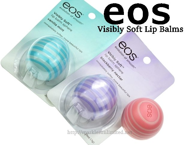 eos visibly soft lip balms, eos visibly soft lip balm sphere, eos visibly soft lip balm review, eos visibly soft lip balm Coconut Milk, eos visibly soft lip balm Vanilla Mint, eos visibly soft lip balm Blueberry Nectar, eos, lip balm, lipcare, natural lip balm