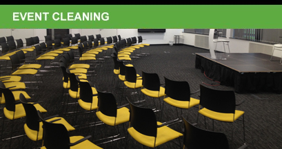 event cleaning