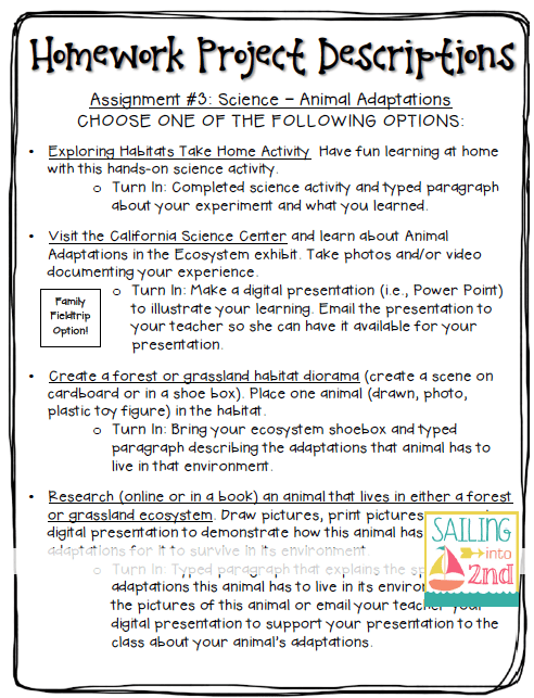 3rd grade science homework help