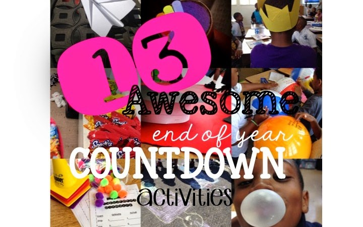 13 End of the Year Countdown Ideas (Pin for Later)