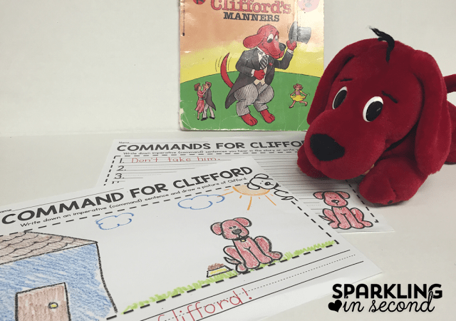 Clifford & Commands {Teaching Imperative Sentences}