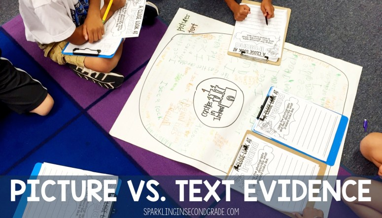 Picture vs. Text Evidence