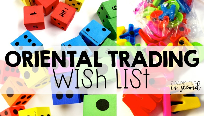 Oriental Trading Teacher Wish List