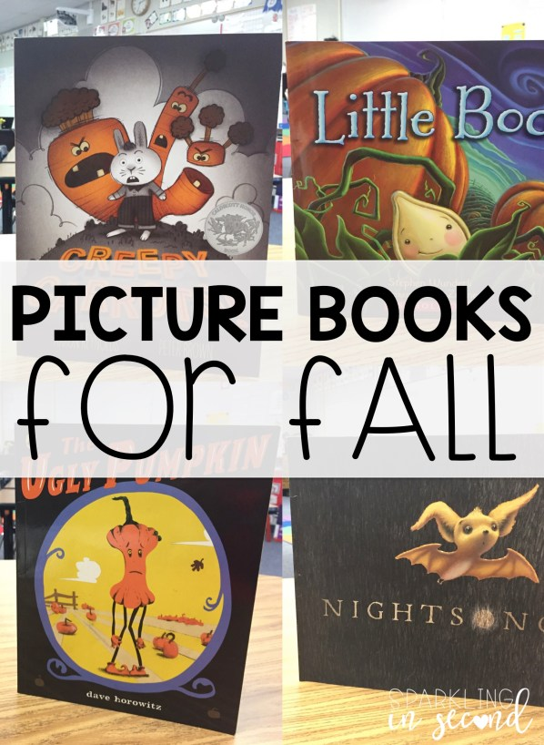 These fall pictures books will engage your students in any subject for fall or Halloween! Use these picture books for teaching during the fall season.