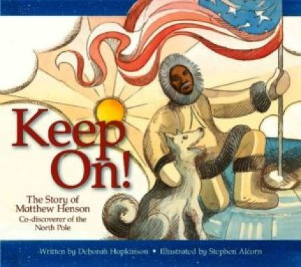 Celebrating Black History? Here are over 30 picture book titles celebrating the accomplishments of African Americans (Matthew Henson).