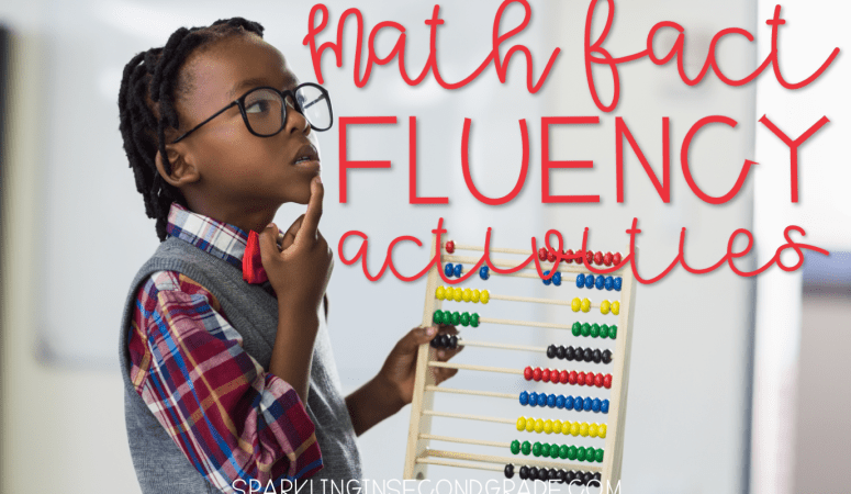 Math Fact Fluency Ideas