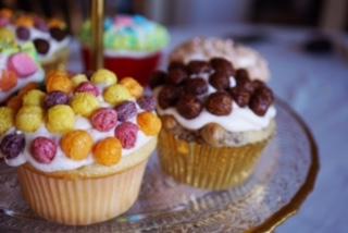 Delicious & Easy Cereal Cupcakes