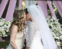 Il matrimonio di Callie e Arizona. Indovinate? Separte anche loro.