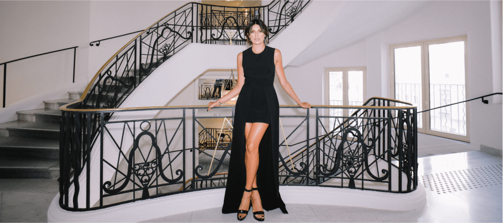 Sparkling PR styles Magali Aravena during the Cannes Film Festival