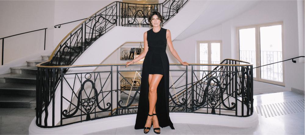 Sparkling PR styles Magali Aravena during the Cannes Film Festival