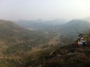 Villages hidden in the valley