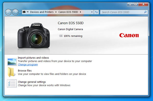 canon camera webcam
