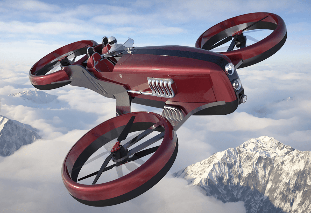 Racing drone concept