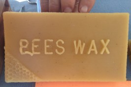 Bees' wax can be used for many things including making candles or crayons. Some people even use it as a mustache wax.