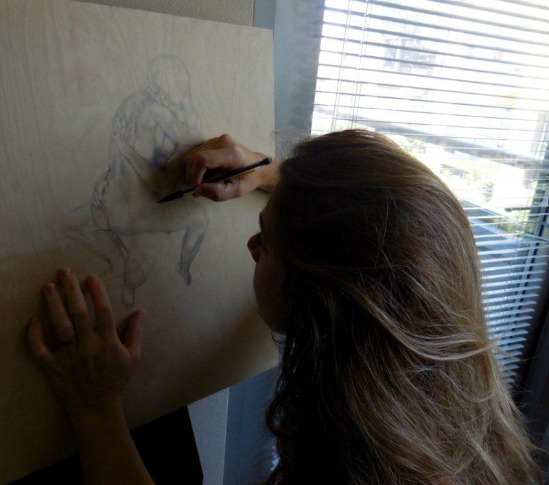 Michelle Ferrera at work
