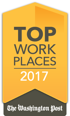 2017 Washington Post Top Workplaces Award