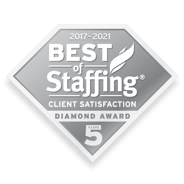 2021 Best of Staffing Client Satisfaction Diamond Award