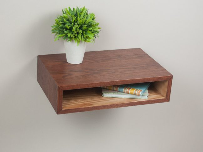 Floating Nightstand Table Shelf