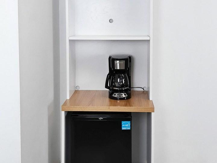 Multi Functional Cupboard, Mini Fridge Microwave Cabinet