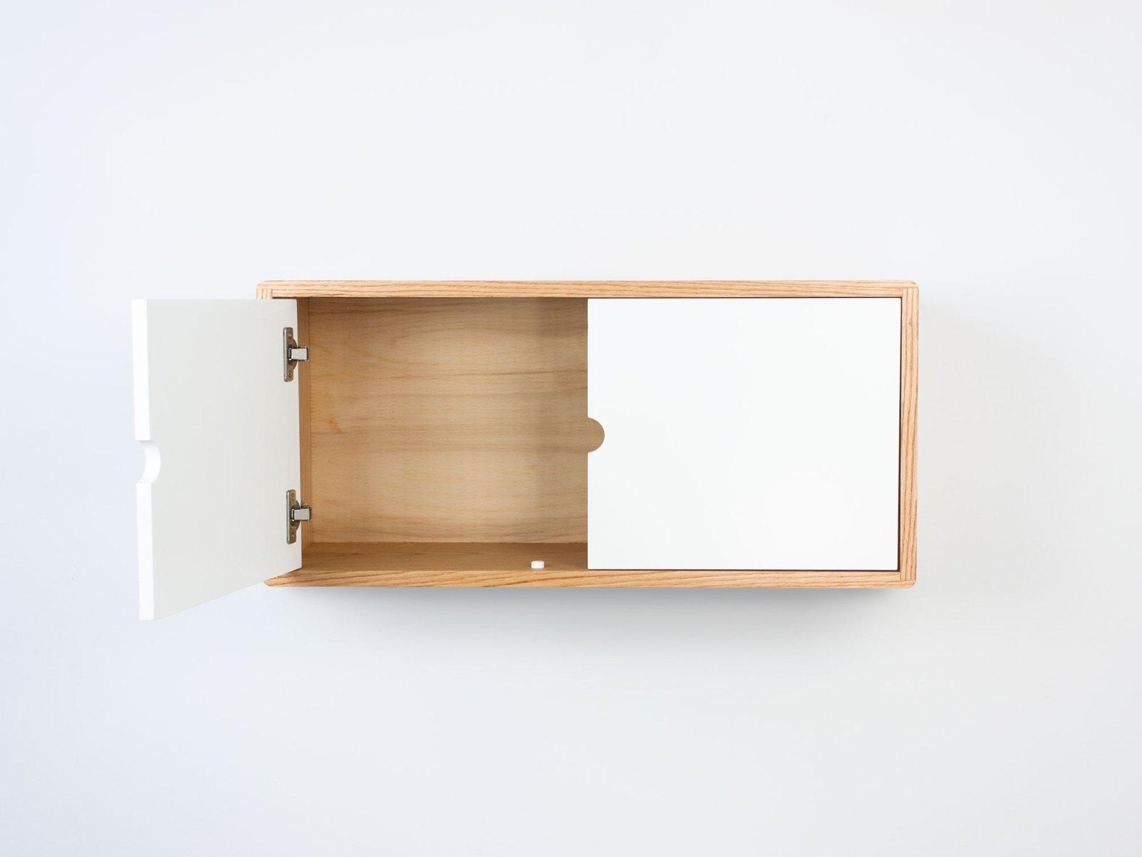 minimalist floating cabinet
