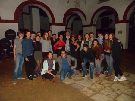 Flamenco en una Bodega