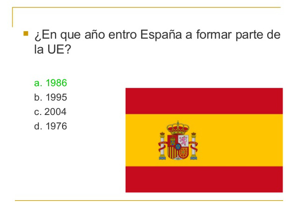 Spanish Course trivial