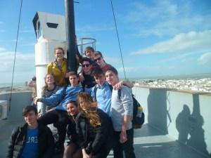 School trip to Cádiz with Spark