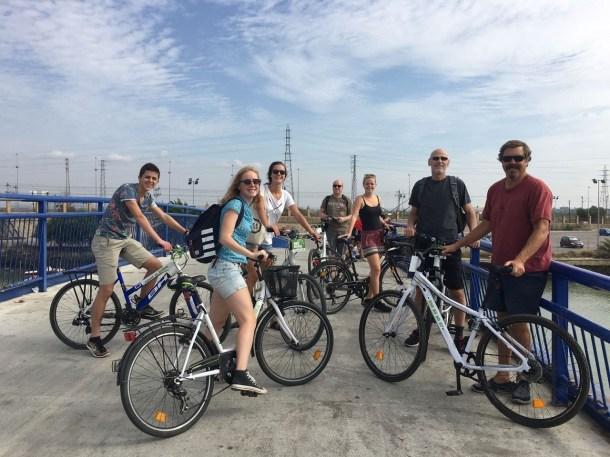 Bike tour in El Puerto
