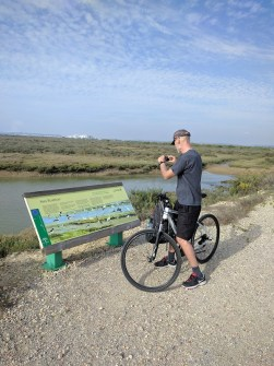 Bike tour at the national park